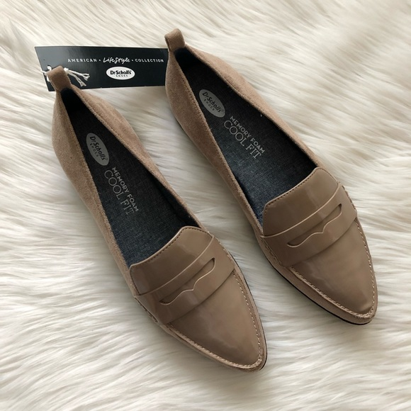 51035e2424e Dr. Scholl s Eclipse Loafer in Putty Suede Wide